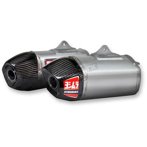 Yoshimura RS-9 Signature Series Dual Slip-On Mufflers - 228422H320