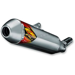 FMF Aluminum Factory 4.1 RCT Slip-On Muffler w/Stainless Steel End Cap - 045557