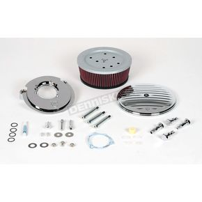 Arlen Ness Big Sucker Grooved Complete Performance Air Filter Kit - 18-805