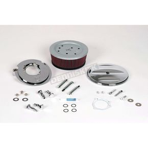 Arlen Ness Big Sucker Stage II Scalloped Complete Performance Air Filter Kit - 18-807