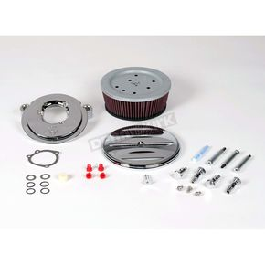 Arlen Ness Big Sucker Stage II Scalloped Complete Performance Air Filter Kit for Models w/CV Carbs 93-99 - 18-802