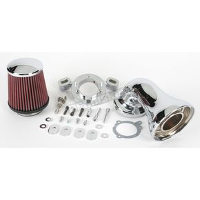 Arlen Ness 90 Degree Air Filter Kit for 114-124 Inch S&S Motors - 18-479