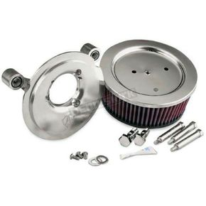 Arlen Ness Natural Big Sucker Stage II Performance Air Cleaner Kit without Cover  - 18-506