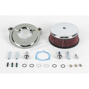 Arlen Ness Smooth Stage 1 Billet Sucker Air Cleaner Assembly  - 18-808