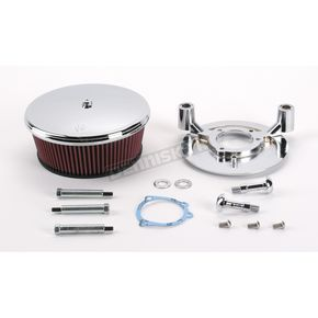 Arlen Ness Smooth Stage 2 Billet Sucker Air Cleaner Assembly - 18-814