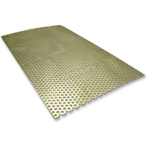 LA Choppers Universal Baffle - Perforated Sheet - LA-1201-00
