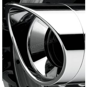 4 Inch Scalloped Billet Exhaust Tips - PT-1009P