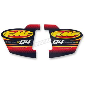 FMF Q4 Hex Replacement Decals - 012785