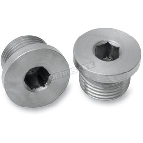 Bassani 18mm x 1.5 O2 Sensor Port Plugs - 1802P