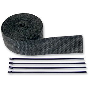 Black Exhaust Pipe Wrap - 9042B