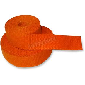 Orange Exhaust Pipe Wrap - CPP/9062-50