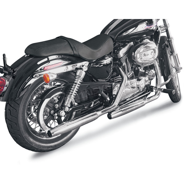 Cycle Shack 1-3/4 in. Tapered M Pipe Exhaust System - PHD-160T