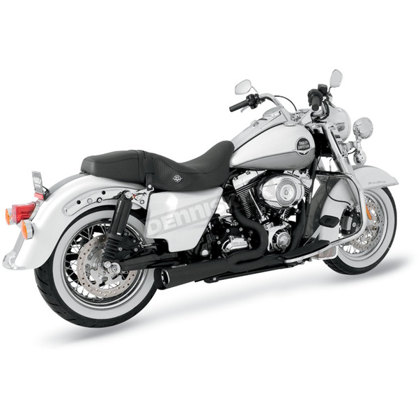 Vance & Hines Black Ceramic Powder Coated Stainless Steel Competition Series Exhaust System - 751119