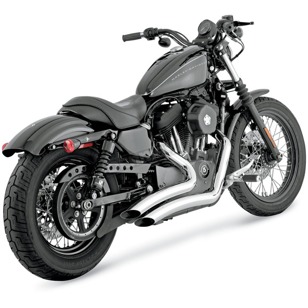Vance & Hines Chrome Big Radius Exhaust - 26055