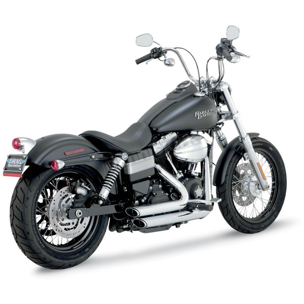 Vance & Hines Shortshots Staggered Exhaust - 17227
