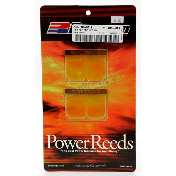 Boyesen Power Reeds for RL Rad Valves - RL-02