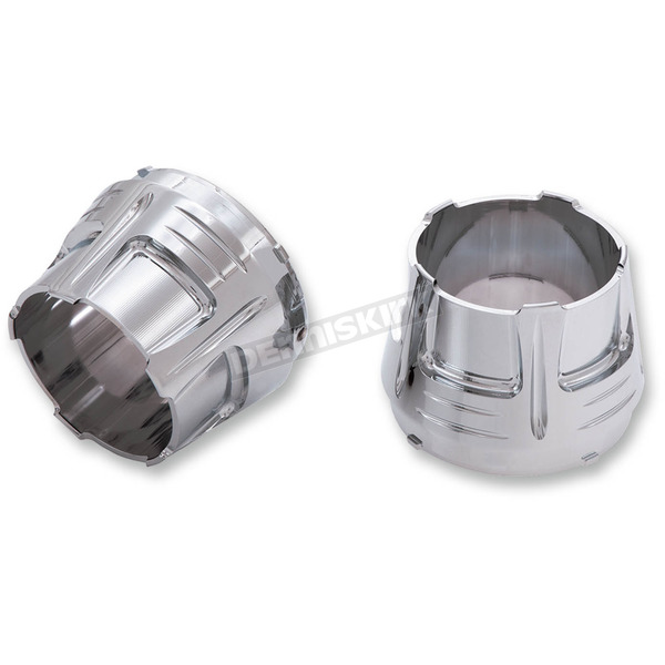 Ciro Chrome Diffuser End Caps - 31200