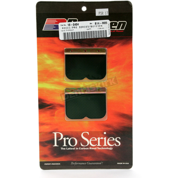 Boyesen Pro Series Reeds for RL Rad Valve - PSR-17