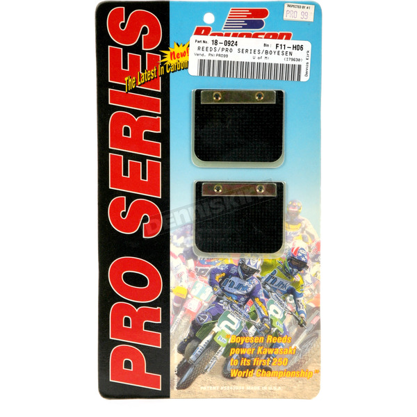 Boyesen Pro Series Reeds for RL Rad Valves - PSR-99