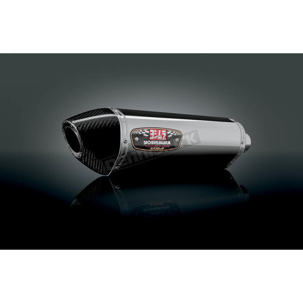 Yoshimura R-77 Stainless/Stainless/Carbon Fiber Exhaust System - 1160000521