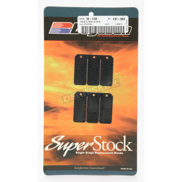 Boyesen Super Stock Carbon Reeds - SSC-001