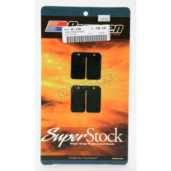 Boyesen Super Stock Carbon Reeds - SSC-035