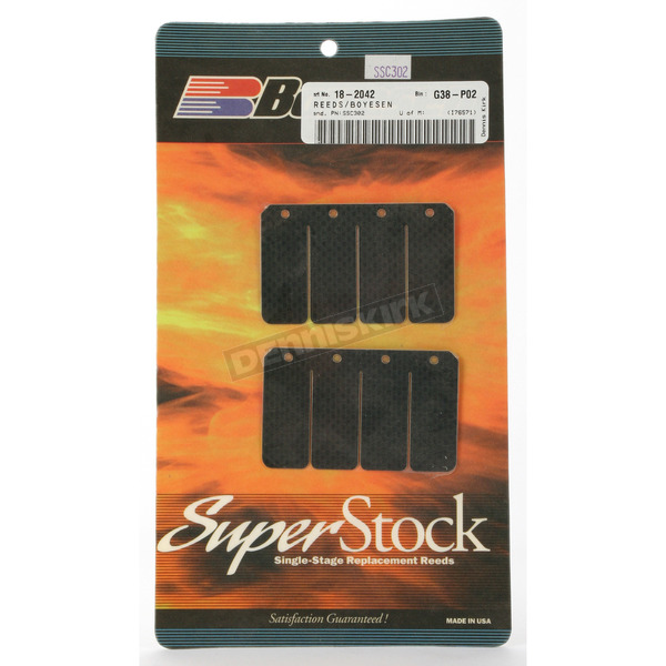 Boyesen Super Stock Carbon Reeds - SSC-302