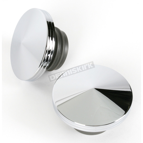 V-Factor Point Style Gas Caps - 3/8 in. Grooved Edge  - 80076