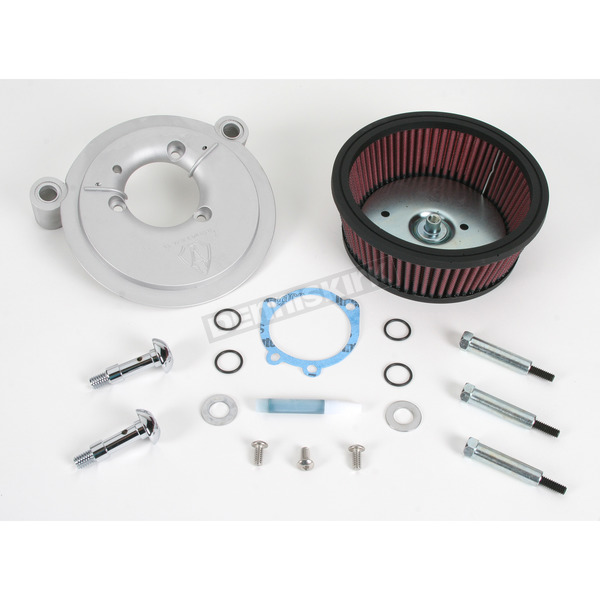 Arlen Ness Natural Big Sucker Stage 1 Performance Air Cleaner Kit without Cover  - 18-505