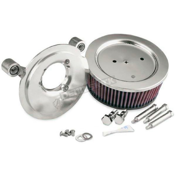 Arlen Ness Chrome Big Sucker Stage 2 Performance Air Cleaner Kit without Cover - 18-513