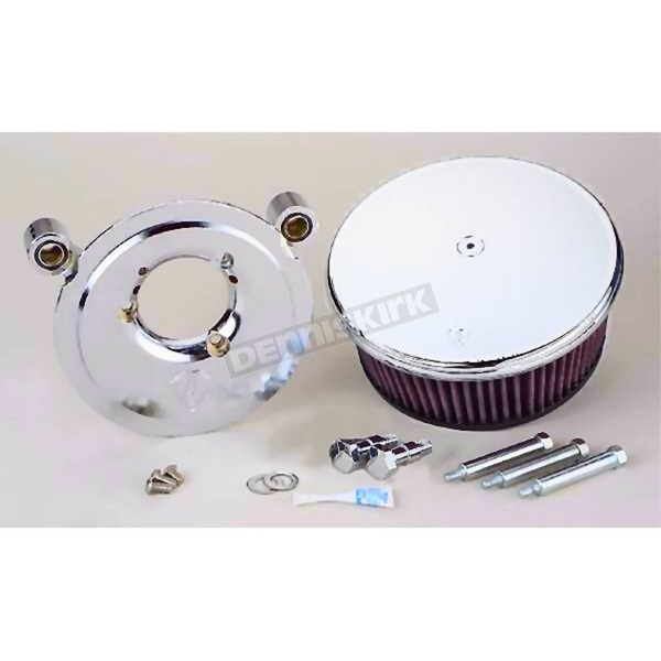 Arlen Ness Smooth Stage 1 Billet Sucker Air Cleaner Assembly  - 18-813