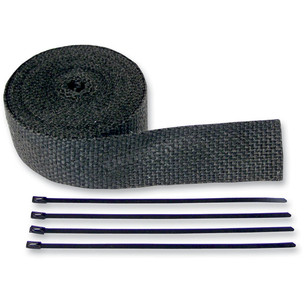 Cycle Performance Black Exhaust Pipe Wrap - 9042B