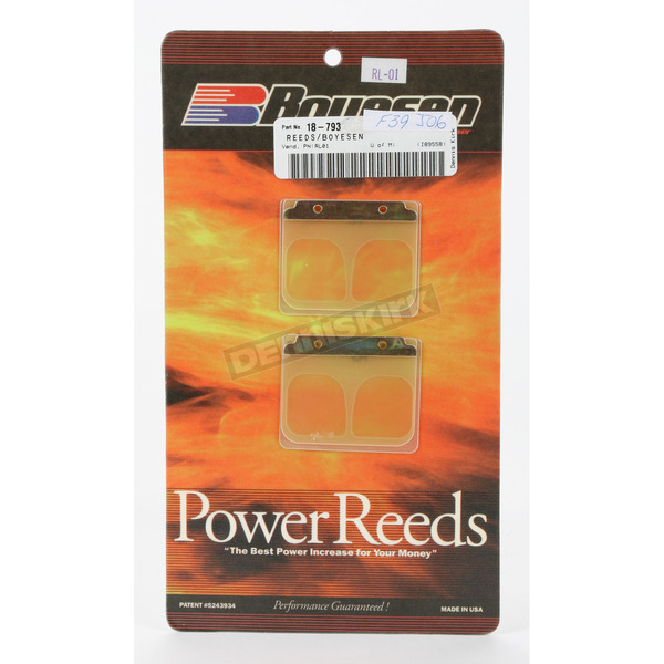 Boyesen Power Reeds for RL Rad Valves - RL01