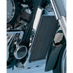 Chrome Mesh Radiator Grille - 1-234