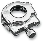 Chrome Throttle Clamp Set - 111193