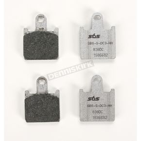 SBS Racing Dual Carbon Brake Pads - 836DC
