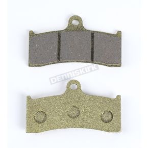 Lyndall Racing Brakes Gold Plus Organic Brake Pads  - 7202-GPLUS