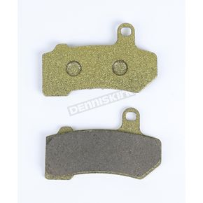 Lyndall Racing Brakes Front or Rear Gold Plus Organic Metal Brake Pads - 7254-GPLUS