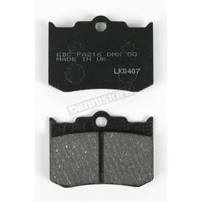 EBC Kevlar Caliper Brake Pads for Performance Machine 137 x 4B, 125x4RSPH and 125x4R Calipers - FA216TH