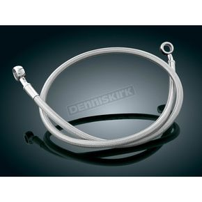 Kuryakyn Extended Rear Stainless Steel Brake Line - 8741
