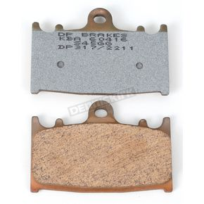 DP Brakes Sintered Metal Brake Pads - DP317