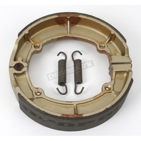 DP Brakes Asbestos Free Sintered Metal Brake Shoes  - 9118