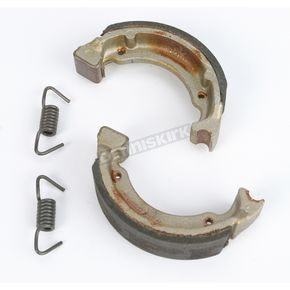 DP Brakes Asbestos Free Sintered Metal Brake Shoes - 9138
