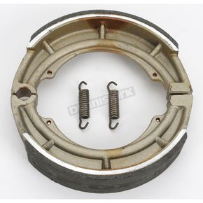 DP Brakes Asbestos Free Sintered Metal Brake Shoes - 9153