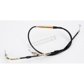 Parts Unlimited Universal 38 in./41 in. Dual Throttle Cable for 34-38mm Carbs - 923