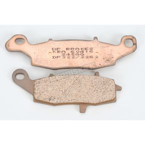 DP Brakes Sintered Metal Brake Pads - DP322