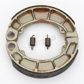 DP Brakes Asbestos Free Sintered Metal Brake Shoes - DP9167