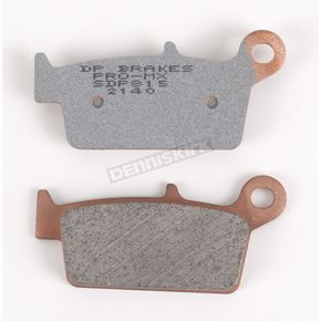 DP Brakes SDP Pro MX Sintered Metal Brake Pads - SDP815