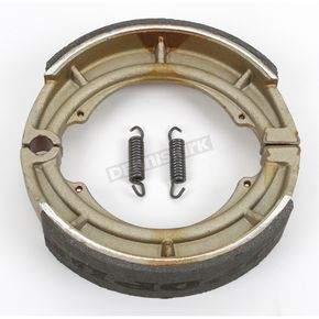 DP Brakes Asbestos Free Sintered Metal Brake Shoes - 9187