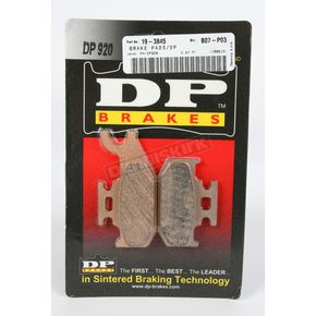 DP Brakes Standard Sintered Metal Brake Pads - DP920